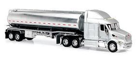 New-Ray Peterbilt 387 w/Sleeper Cab Oil Tanker Diecast Model Truck 1/32 scale #12373