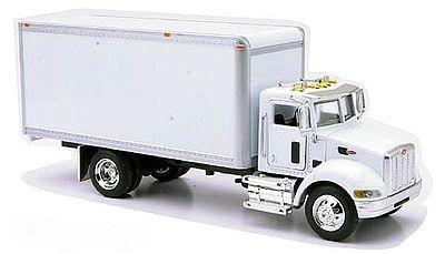 New-Ray Peterbilt 335 Box Delivery Truck (Die Cast) Diecast Model Truck 1/43 Scale #15803