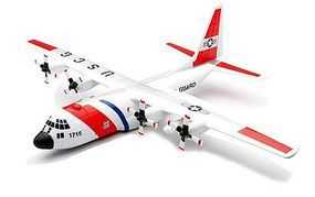 Lockheed C-130 Hercules USCG Plastic Model Airplane Kit 1/130 Scale #20617