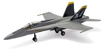 New-Ray McDonnel Douglas F/A-18 Hornet Plastic Model Airplane Kit 1/48 Scale #21445