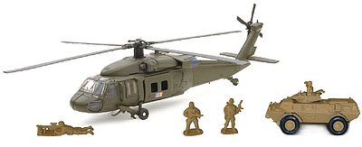 New Ray Toys 1/55 Sikorsky UH-60 Black Hawk