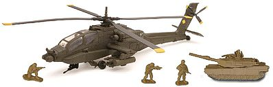 New Ray Toys 1/55 Apache AH-64 Helicopter