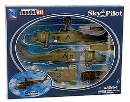 New-Ray Sikorsky UH-60 Black Hawk Plastic Model Helicopter Kit 1/60 Scale #25565