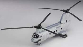 New Ray Toys Boeing CH-46 Sea Knight -- Diecast Model Helicopter -- 1/55 scale -- #25897
