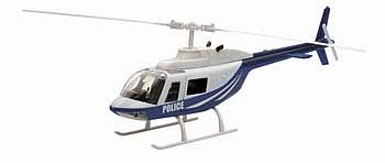 New Ray Toys Bell 206 Police -- Diecast Model Helicopter -- 1/34 scale -- #26073a