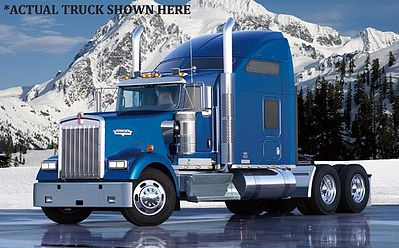 New Ray Toys Kenworth W900 Tractor Cab (Die Cast) Color Will Vary -- Diecast Model Truck -- 1/32 scale -- #52933