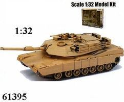 New-Ray Classic Model Tank Kit B/O M1A1 Plastic Model Tank Kit 1/32 Scale #61395