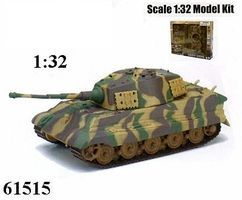 New-Ray Classic Model Tank Kit B/O King Tiger Plastic Model Tank Kit 1/32 Scale #61515