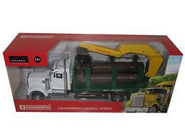 New-Ray 1/32 Kenworth W900 Wood Logging Truck (Die Cast) (Automaxx)