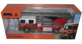New-Ray 1/32 Scania Ladder Fire Truck (Die Cast) (Automaxx)