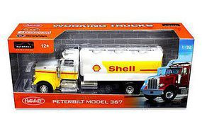 New-Ray 1/32 Peterbilt 367 Shell Tanker Truck (Die Cast) (Automaxx)