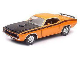 New-Ray 1/24 1970 Plymouth Cuda Car (Die Cast)