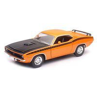New-Ray 1/24 Plymouth Cuda Orange