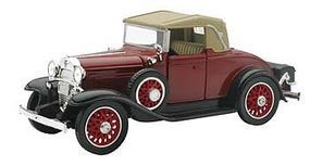 New-Ray Chevy Sport Cabriolet Maroon/Tan Diecast Model Car Truck 1/32 scale #ss-55093