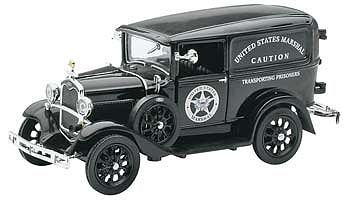 New Ray Toys 1931 Ford Model A (US Marshall) -- Diecast Model Car Truck -- 1/32 scale -- #ss-55123a