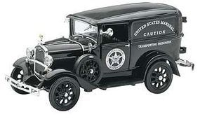 New-Ray 1931 Ford Model A (US Marshall) Diecast Model Car Truck 1/32 scale #ss-55123a