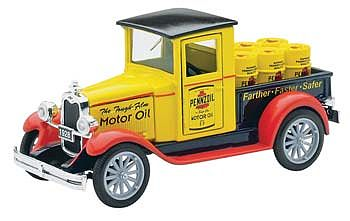 New Ray Toys 1928 Chevy Pennzoil P/Up Truck -- Diecast Model Truck -- 1/32 scale -- #ss55003a