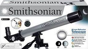 NSI Smithsonian 40mm Refractor Telescope w/Table Top Tripod