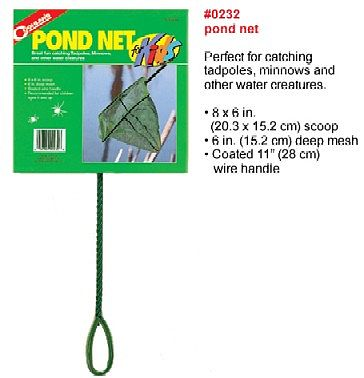 NSI Pond Net 8'' X 6'' Scoop
