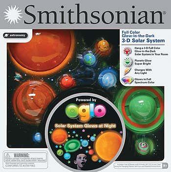Smithsonian Glow-in-the-Dark 3D Solar System (nsi52071 ...