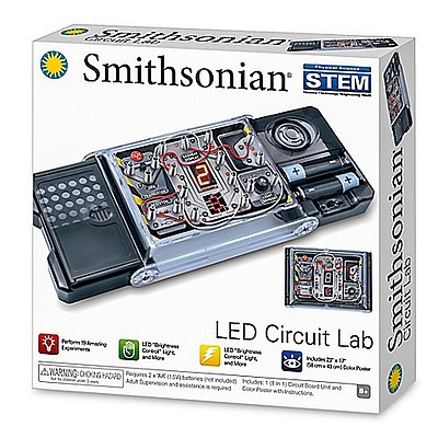 NSI Smithsonian STEM LED Circuit Lab Kit