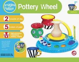 NSI Pottery Wheel w/Foot Pedal