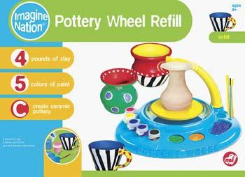 NSI Pottery Wheel Clay Refill for #55412