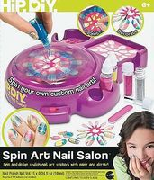 NSI Spin Art Nail Salon