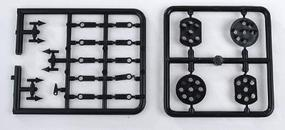 Oregon-Rail Pennsylvania Position Lights 2 Each Round and Flat Sided Heads (Matches Kits #538-150 and 153, sold separately) - HO-Scale