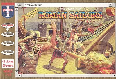 Orion Roman Sailors (48) Plastic Model Military Figure 1/72 Scale #72006