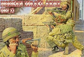 Orion Modern Israel Army Set #1 (48) Plastic Model Military Figure 1/72 Scale #72012