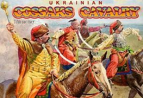 Orion Ukrainian Cossacks Cavalry XVII Century (12 Mtd) Plastic Model Military Figure 1/72 #72014