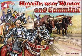 Orion Hussite War Wagon & Command Plastic Model Military Figure 1/72 Scale #72039