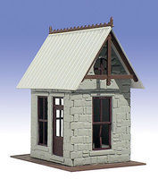 O-Gauge Flag Stop Station 1-Story Building Kit O Scale Model Railroad Building #501