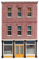O-Gauge O Ameri-Towne- Lous Cafe Building Front Only
