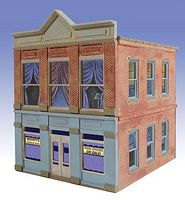 O-Gauge Becketts Clothing 2-Story Building Kit O Scale Model Railroad Building #821
