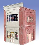 O-Gauge Lindas Antique Shop 2-Story Building Kit O Scale Model Railroad Building #865