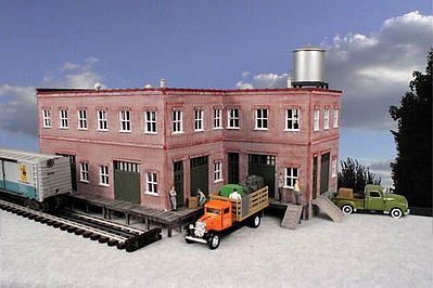 O-Gauge Barrettsburg Tool & Die 2-Story Building Kit O Scale Model Railroad Building #941