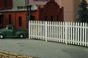 Osborn Commercial Fence Kit HO Scale Model Railroad Building Accessory #1013