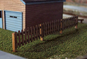 Osborn Residential Fence Kit HO Scale Model Railroad Building Accessory #1014