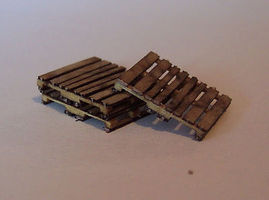 Osborn 20 Pack of Skids HO Scale Model Railroad Trackside Accessory #1016
