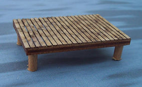Osborn Dock for Boats HO Scale Model Railroad Trackside Accessory #1017