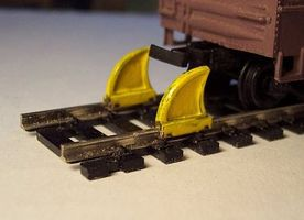 Osborn Rail Stops HO Scale Model Railroad Trackside Accessory #1038