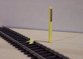 Osborn Derail (wooden kit) HO Scale Model Railroad Trackside Accessory #1041