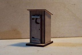 Osborn Outhouse HO Scale Model Railroad Trackside Accessory #1042