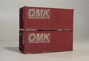 Osborn Model Kits HO 20' Intermodal Containers
