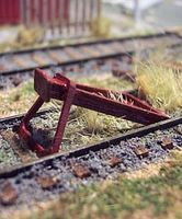 Osborn Rail End Bumper (wooden kit) HO Scale Model Railroad Trackside Accessory #1096
