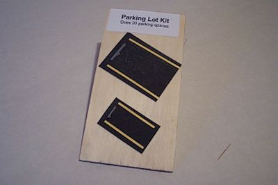 Osborn Parking Bumpers 20 pack (wooden kit) HO Scale Model Railroad Road Accessory #1097