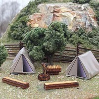 Osborn HO Tents + Camp Scene