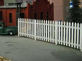 Osborn Residential Fence (wooden kit) N Scale Model Railroad Building Accessory #3014